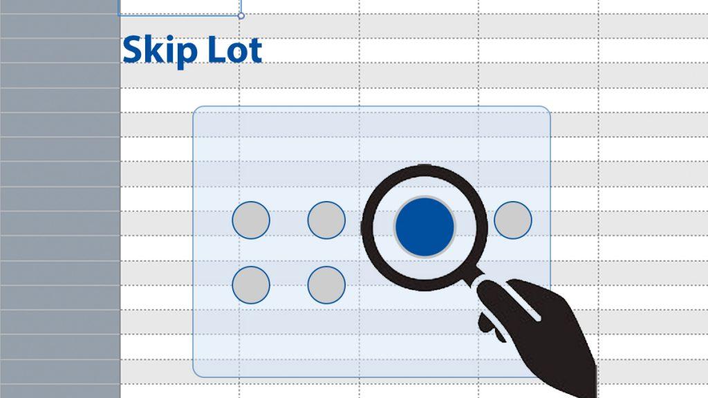 Skip Lot Stichprobenprüfung Excel