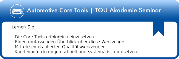 Automotive Core Tools Seminar