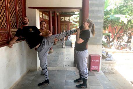 Shaolin Kung-fu dehnen