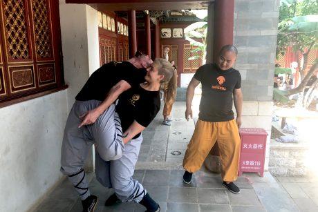 Konterdehnen Shaolin kung-fu
